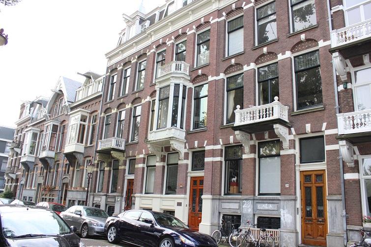 Coachhuis van Eeghenlaan 27 Amsterdam